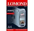 LOMOND Magnetic Paper, matt– материал для магнитных стикеров, А4,2 л,2020346