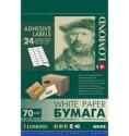 Самоклеящаяся бумага для этикеток,A4,24шт.(70 x 37 мм),70г/м2,50 л.2100165