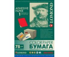 Самоклеящаяся неоновая бумага для этикеток,Красный,A4,1шт.,78г/м2,50л,2010005