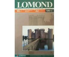 Односторонняя Матовая фотобумага для струйной печати, A4, 90 г/м2, 100 листов,Lom-0102001