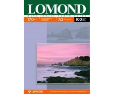 Двусторонняя Матовая/Матовая фотобумага для струйной печати, A4, 170 г/м2, 100 листов,Lom-0102006