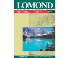 Односторонняя Глянцевая фотобумага для струйной печати, A4, 130 г/м2, 50 листов, Lom-0102017