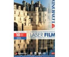 Прозрачная пленка для цветных лазерных принтеров с тонером,А4,100 мкм,10 л,0703411