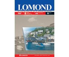 Прозр. плёнка Lomond  с бумажной отделяемой полоской А4,100 мкм, 10 л,0710421