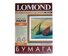 Бумага Lomond  A4 слоновая кость глянцевая лен Lom-0908461