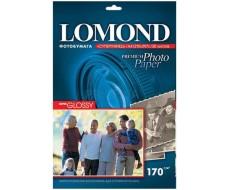 Суперглянцевая ярко-белая (Super Glossy Bright) микропористая фотобумага для струйной печати, A4, 170 г/м2, 20 листов,Lom-1101101