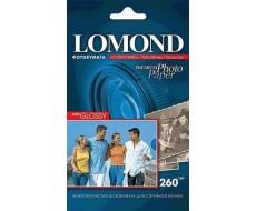 Суперглянцевая ярко-белая (Super Glossy Bright) микропористая фотобумага для струйной печати, A5, 260 г/м2, 20 листов,Lom-1103104