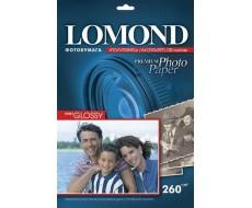 Полуглянцевая (Semi Glossy) микропористая фотобумага для струйной печати, A4, 260 г/м2, 20 листов,Lom-1103301