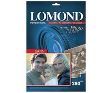 Атласная (Satin) микропористая фотобумага для струйной печати, A4, 280 г/м2, 20 листов,Lom-1104201
