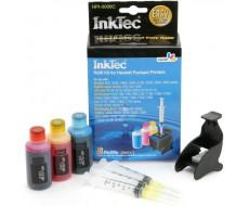 Заправочный набор InkTec для HP 22 (C9352AE), HP 57 (C6657A), HP 28 (C8728A), HPI-0006C  3 x 25 мл