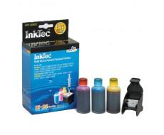 Заправочный набор InkTec для HP 121 (CC643HE),121XL (CC644HE),901 (CC656AE) HPI-4060C 3x25 мл