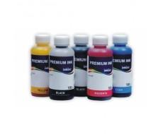 Комплект чернил InkTec для Epson XP-600, XP-605, XP-710, XP-700, XP-800, XP-810, XP-610 пигмент+ водные,5 х 100 мл