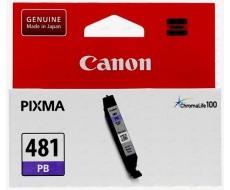Картридж CANON CLI-481 фото-голубой оригинальный стандартной емкости