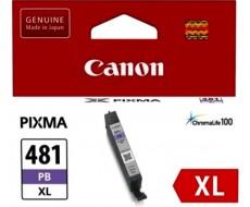 Картридж CANON CLI-481XL фото-голубой оригинальный повышенной емкости