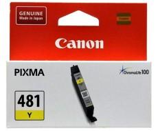 Картридж CANON CLI-481 желтый оригинальный стандартной емкости