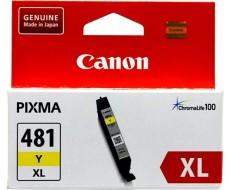 Картридж CANON CLI-481XL желтый оригинальный повышенной емкости